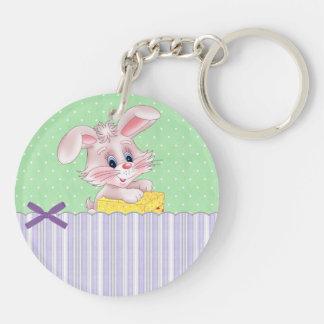 Baby Bunny Keychain