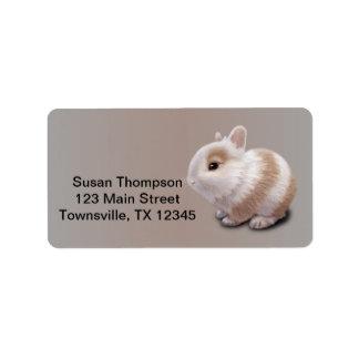 Baby Bunny Address Label
