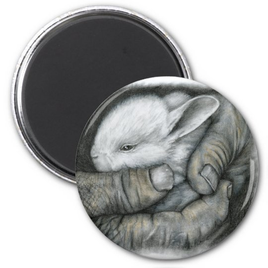 BABY BUNNY MAGNET