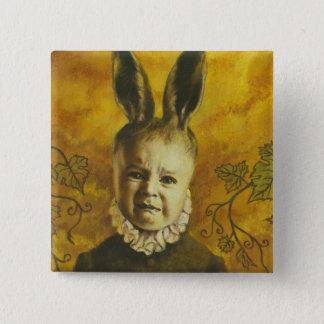 Baby Bunny Mutant Design Pinback Button