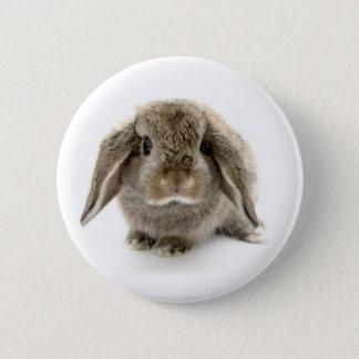 Baby Bunny Pinback Button