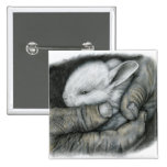 BABY BUNNY PINBACK BUTTONS