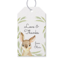 Baby Bunny Rabbit Thank You Favor Gift Tags