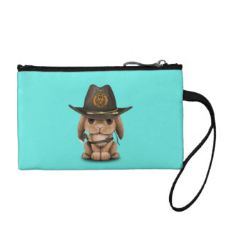 Baby Bunny Zombie Hunter Coin Wallet