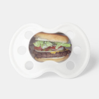 BABY BURGER PACIFIER