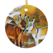 Baby Burros Ornament