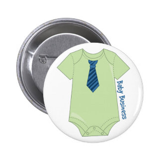 Baby Business Pinback Button