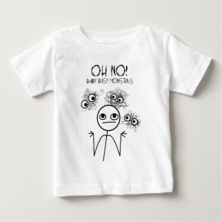 Baby Busy Monsters Baby T-Shirt