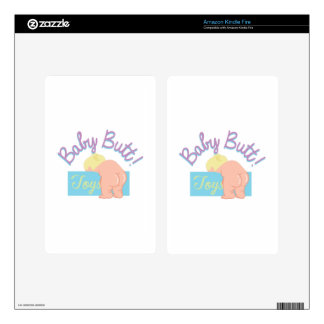 Baby Butt Skin For Kindle Fire