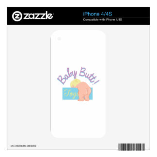Baby Butt Skins For iPhone 4S