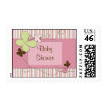 Baby Butterfly Postage Stamp