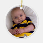 """Baby Buzz """"Bee all you can bee!"""" ornament"""
