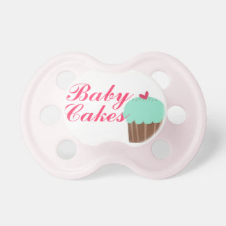 """""""Baby Cakes"""" Baby Girl Pacifier"""