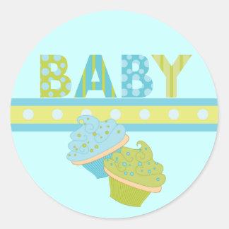 Baby Cakes Classic Round Sticker