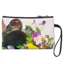 Baby Call Duckling Duck Bird Flowers Animal Bag