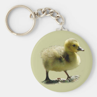 Baby Canadian Goose Keychain