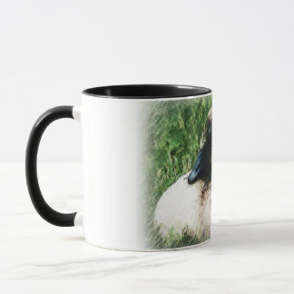 Baby Canadian Goose Photo Sketch Mug