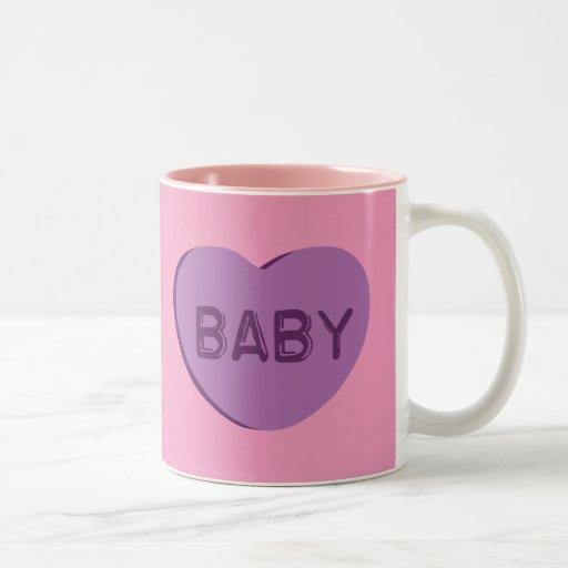 Baby Candy Heart Coffee Mug