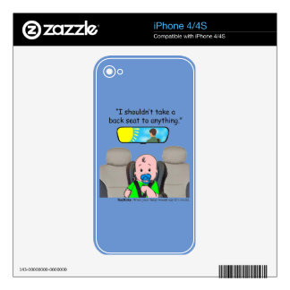 Baby Care Skin For The iPhone 4