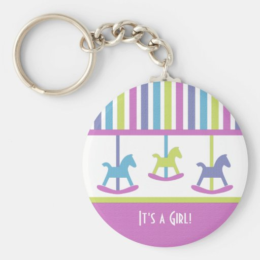 Baby Carousel Collection Key Chain