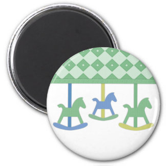 Baby Carousel Collection Fridge Magnet