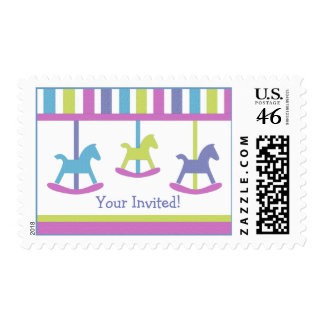 Baby Carousel Collection Postage Stamps