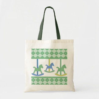 Baby Carousel Collection Tote Bag