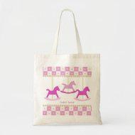 Baby Carousel Tote Bag bag