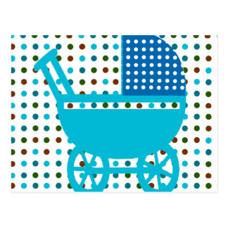 Baby Carriage Design Hip Gifts Postcard