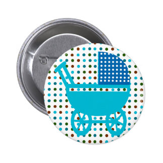 Baby Carriage Gifts Button