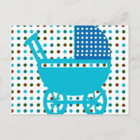 Baby Carriage Gifts postcard