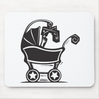Baby Carriage Mouse Pad