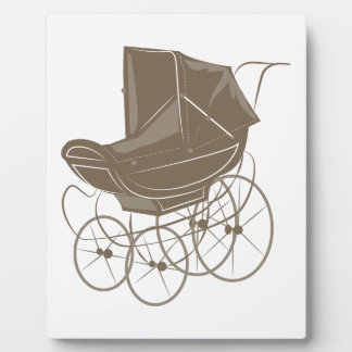 Baby Carriage Plaque