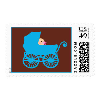 Baby Carriage Stamp