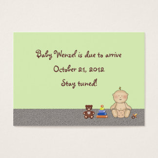 Baby Carriage Tot Business Card
