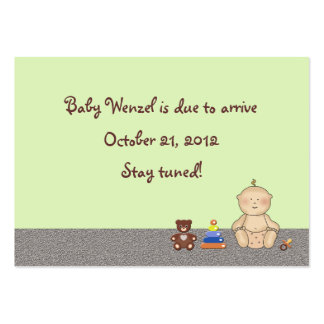 Baby Carriage Tot Large Business Card