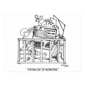 Baby Cartoon 1350 Postcard