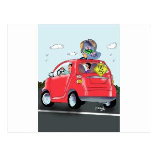 Baby Cartoon 9372 Postcard