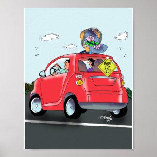 Baby Cartoon 9372 Poster