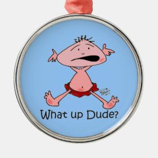 Baby Cartoon Metal Ornament