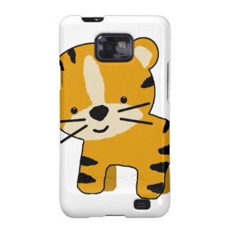 Baby Cartoon Tiger Boy Galaxy SII Case