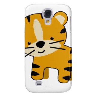 Baby Cartoon Tiger Boy Samsung Galaxy S4 Covers