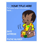 Baby Cartoon to Personalize - Flyer