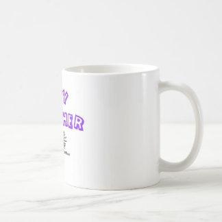 baby catcher classic white coffee mug