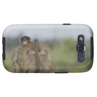 Baby Chacma Baboon (Papio ursinus) riding Galaxy S3 Case