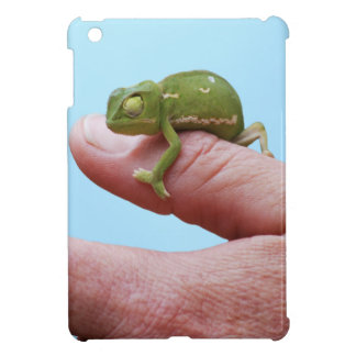 Baby chameleon perspective case for the iPad mini