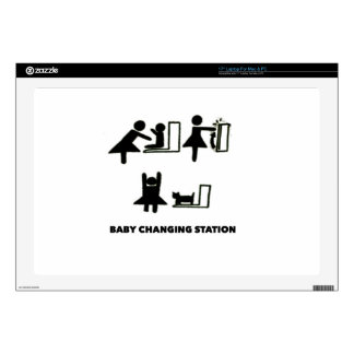 Baby Changing Station Decal For Laptop