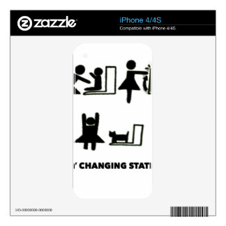 Baby Changing Station iPhone 4S Decals