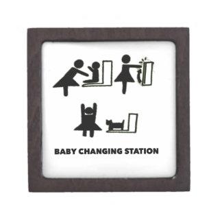 Baby Changing Station Jewelry Box