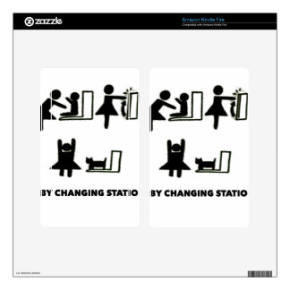 Baby Changing Station Kindle Fire Skin